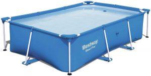 Bestway Steel Pro 102x67x24 Rectangular Above-Ground Pool