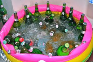 A fair amount of Soft Drinks
