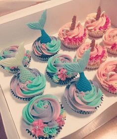 Mermaid cupcakes ideas