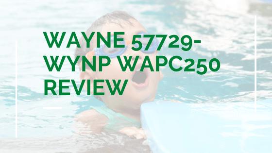 WAYNE 57729-WYNP WAPC250 Review