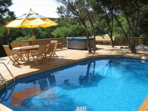 Is it really an in-ground pool?' Type Deck