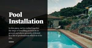 In-Ground and Above Ground Pool Installation