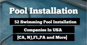 swimming pool installation companies