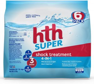 HTH Pool Shock Super Shock Treatment