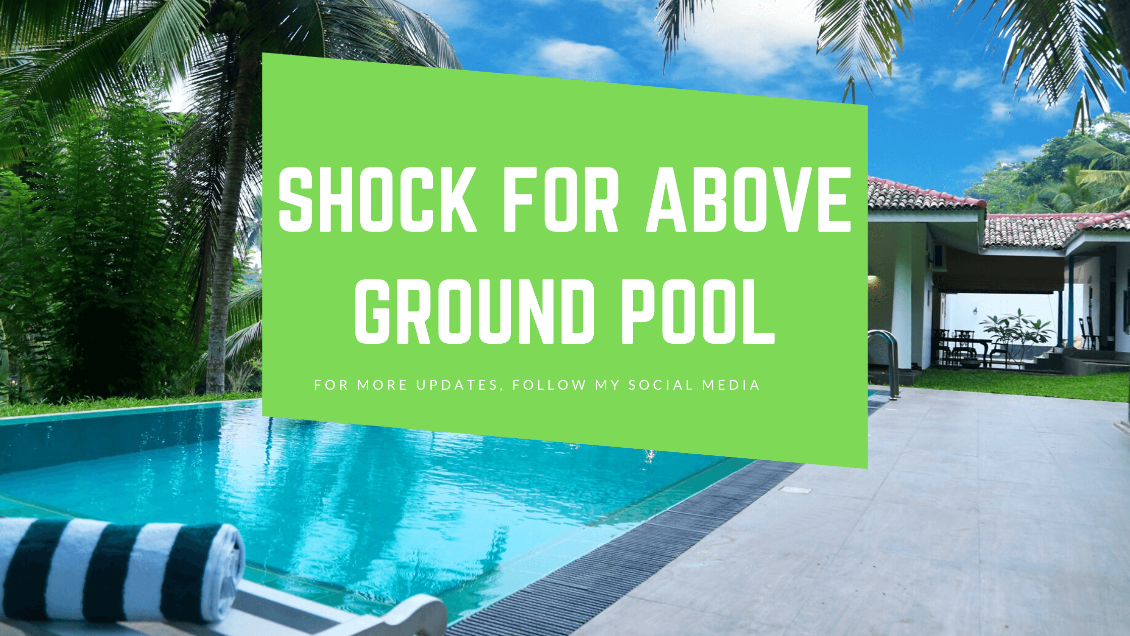 Best Shock for Above-Ground Pools