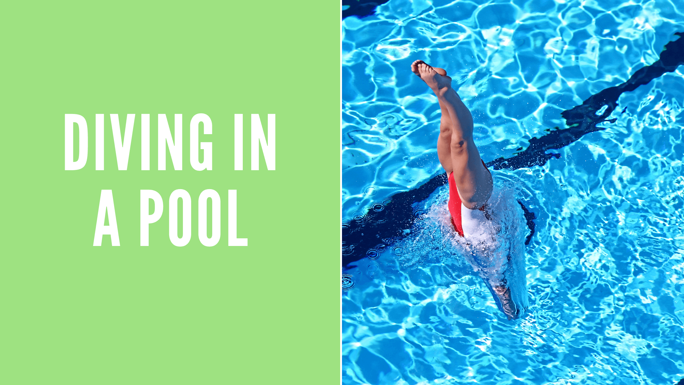 Diving In A Pool: A Step By Step Guide For Beginners 1
