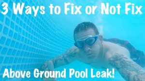 How to Instantly Patch Any Pool Liner? 1